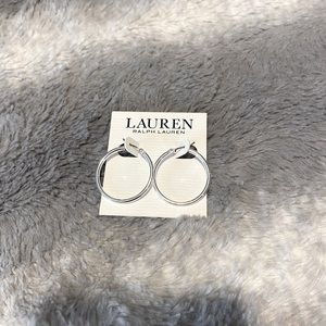 Brand New Silver Hoops